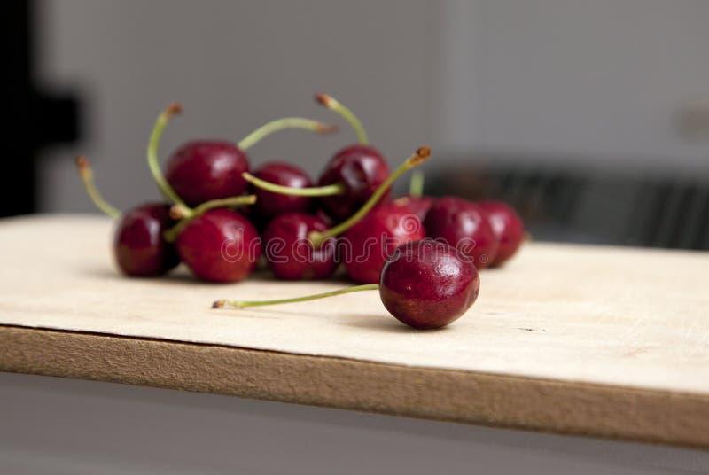 Cereja na cozinha imagem de stock