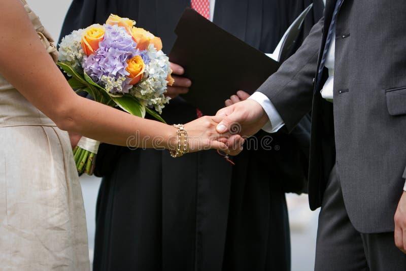 ceremonia ślub fotografia stock