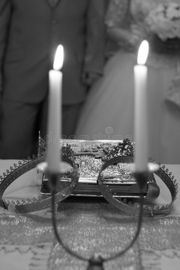 ceremonia ślubu obrazy stock