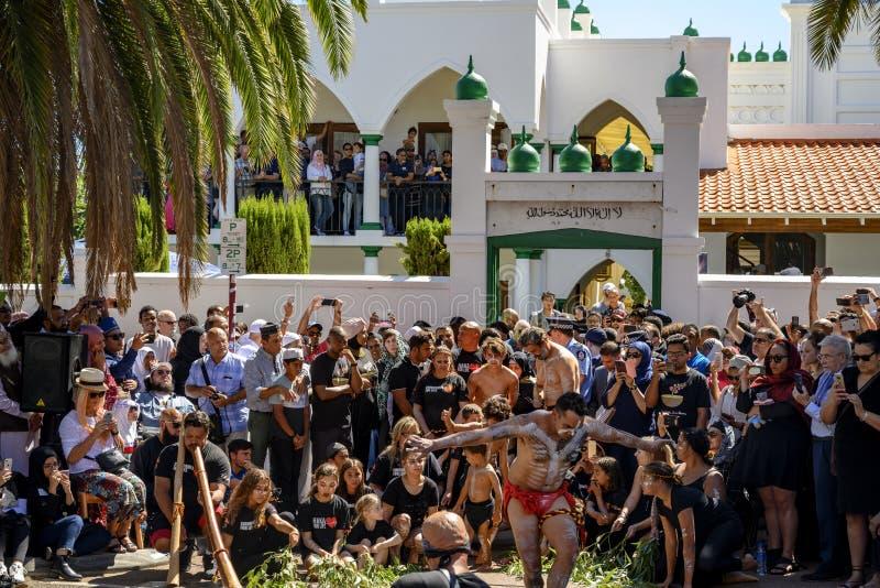 Ceremonia conmemorativa de Perth a Christchurch fotos de archivo libres de regalías