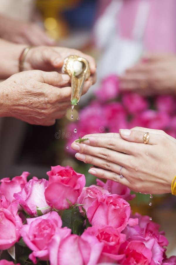 Ceremonia de boda foto de archivo