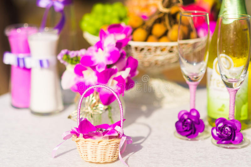 Ceremonia de boda en Tailandia imágenes de archivo libres de regalías