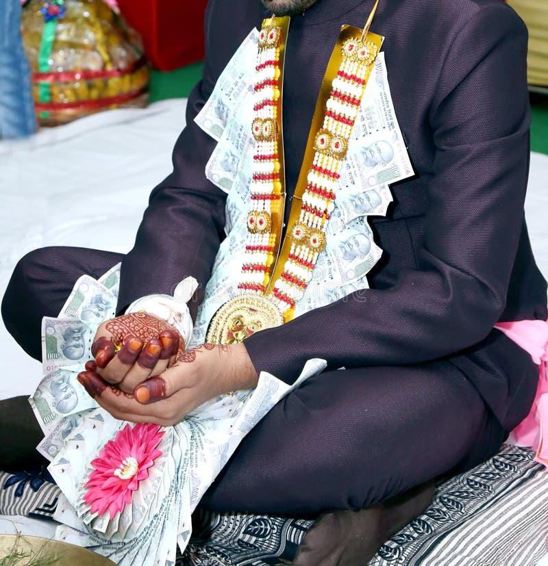 Ceremonia de boda hindú foto de archivo