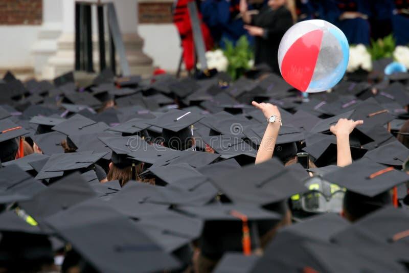 Ceremonia de graduación fotografía de archivo libre de regalías