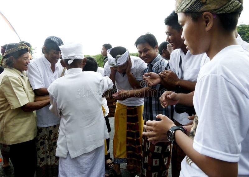 Ceremonia de Hindus imagen de archivo libre de regalías