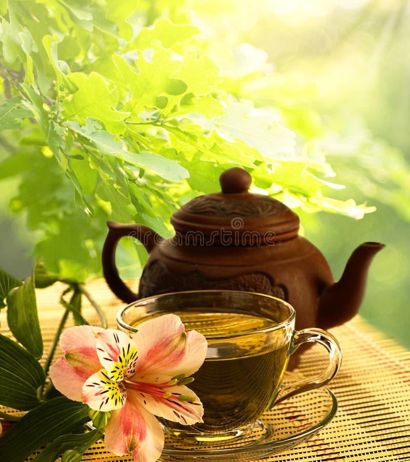 Ceremonia de té. foto de archivo libre de regalías