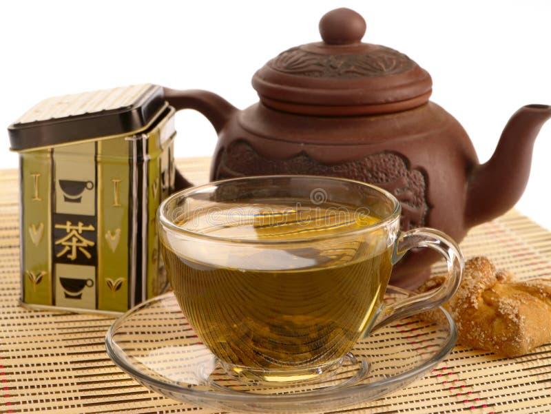 Ceremonia de té. imagen de archivo