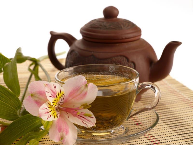 Ceremonia de té. imagenes de archivo