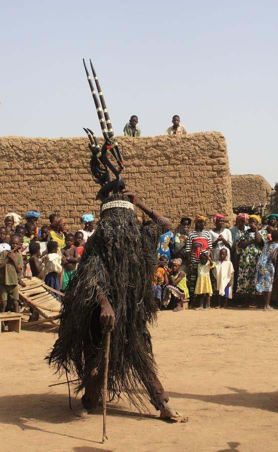 Ceremonia religiosa africana fotografía de archivo libre de regalías