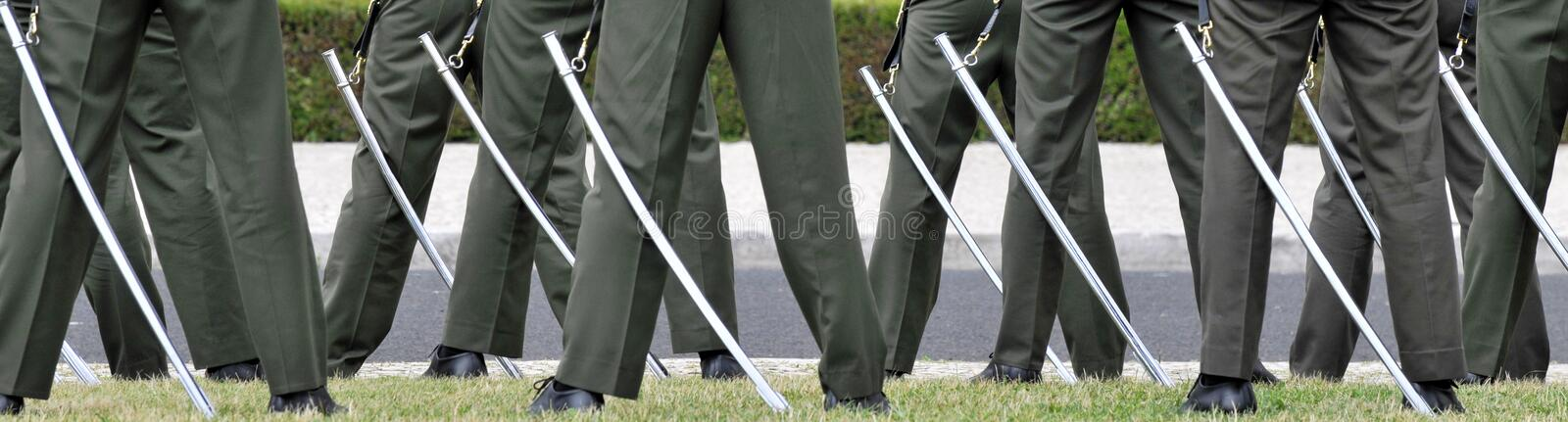 Download Ceremonial guards stock photo. Image of historical, green - 15269870