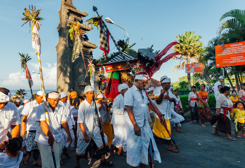 Download Ceremonial Procession, Bali, Indonesia Editorial Photography - Image of palanquin, silence: 96915407