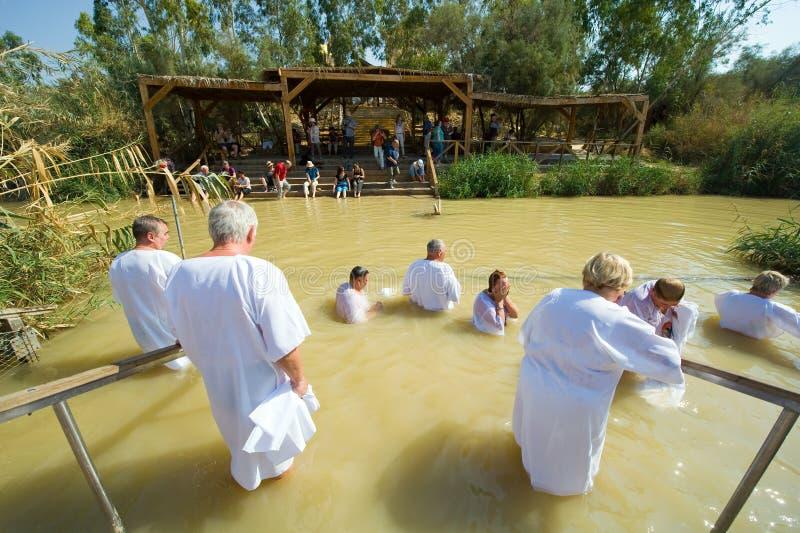 Ceremonie bautismal foto de archivo