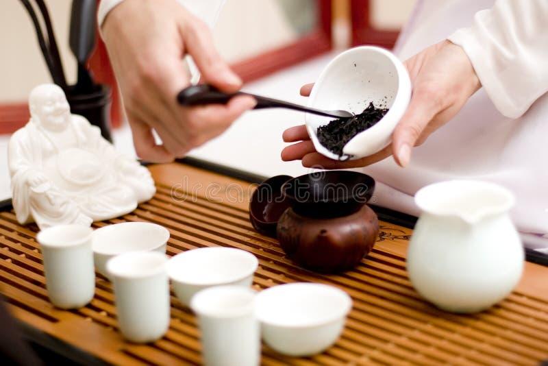 ceremonii chińczyka herbata zdjęcia royalty free