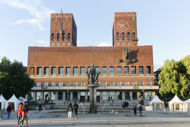 ceremonii urząd miasta Nobel Oslo pokoju miejsca nagroda zdjęcia royalty free