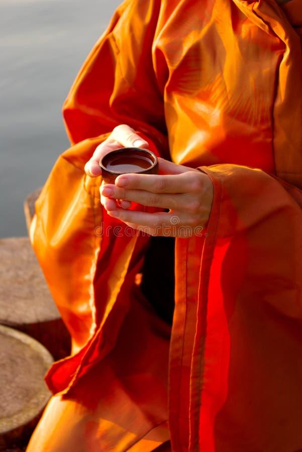 ceremonitea arkivbild