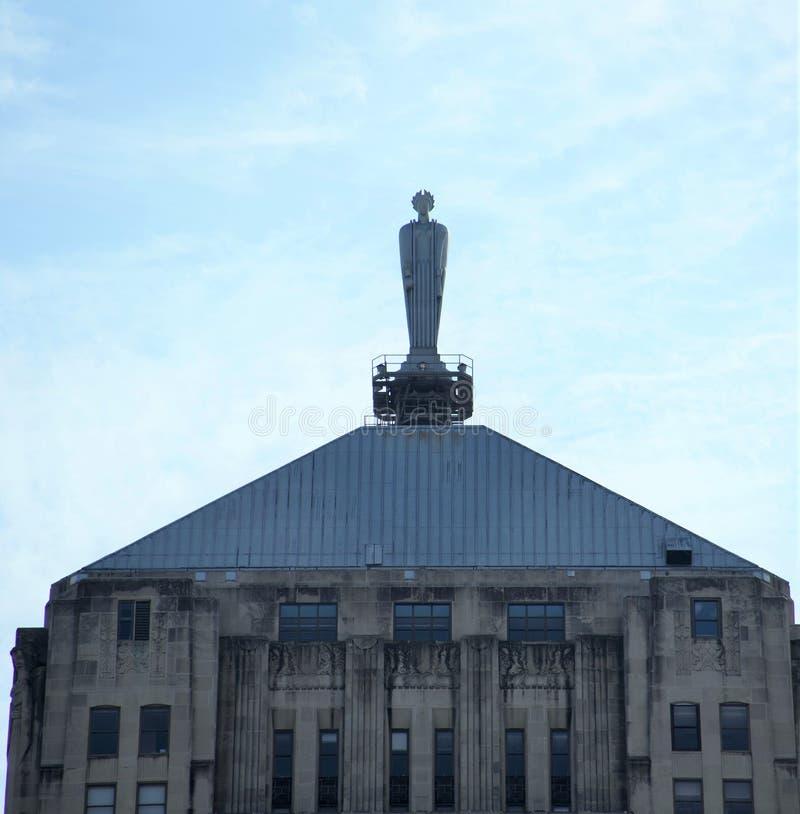 Ceres Statue, ChicagoHandelskammer, Chicago, Illinois stockfotografie
