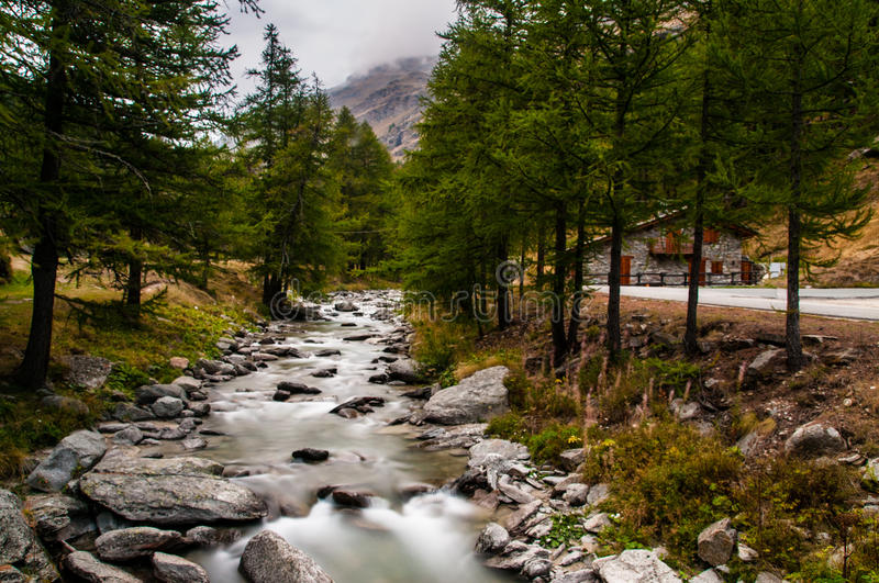 Ceresole Reale photographie stock
