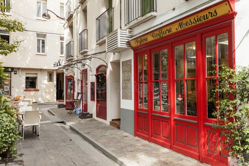 Ceret, Occitanie,法国 免版税库存照片