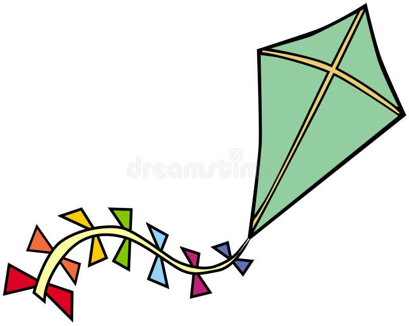 Cerf-volant illustration stock
