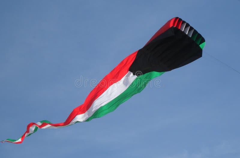 Cerf-volant de drapeau du Kowéit photos stock