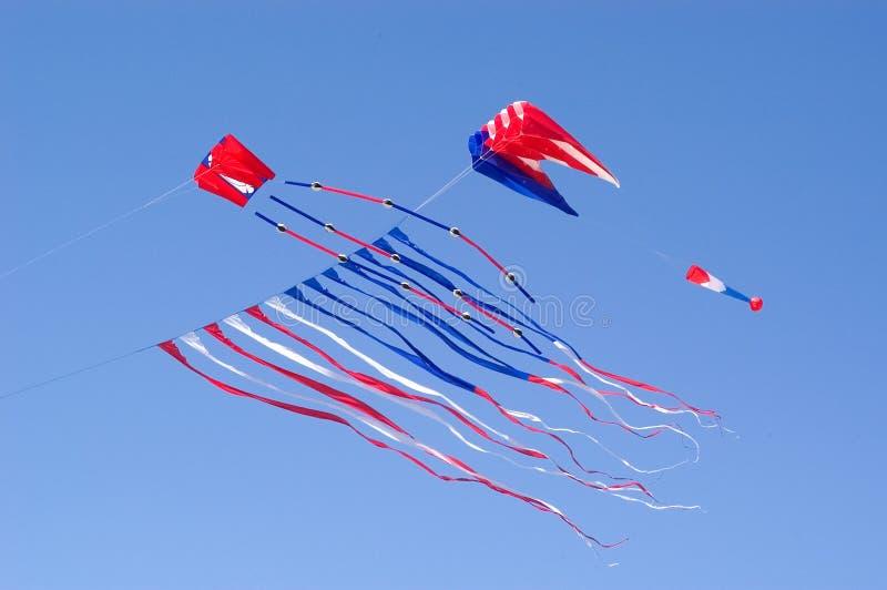 Cerf-volant de vol   images stock