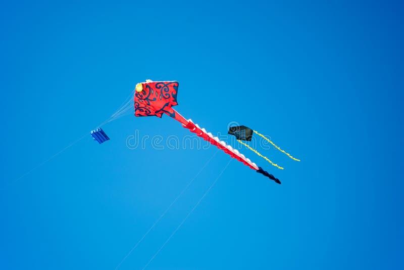 Cerf-volant de vol photos stock