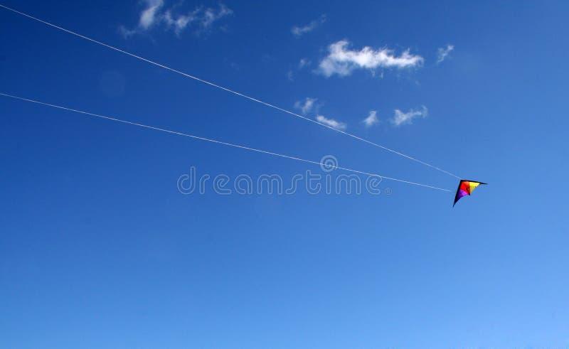 Cerf-volant de vol photographie stock
