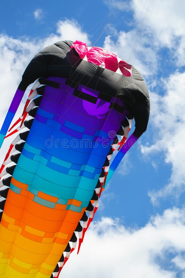 Cerf-volant de vol image libre de droits