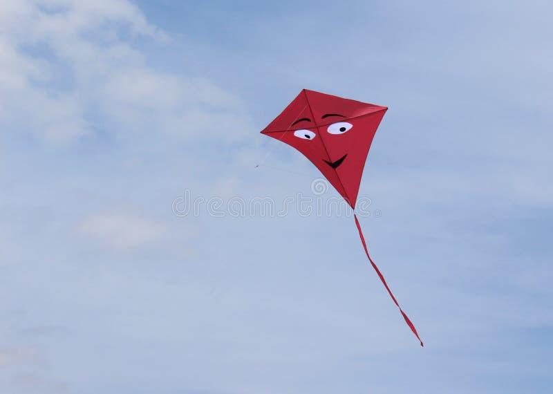 Cerf-volant rouge images libres de droits