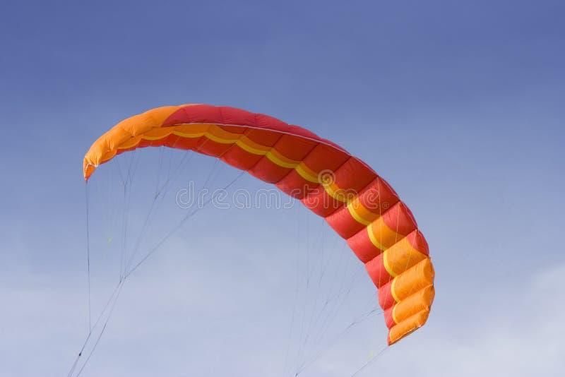 Cerf-volant rouge de pouvoir photos stock