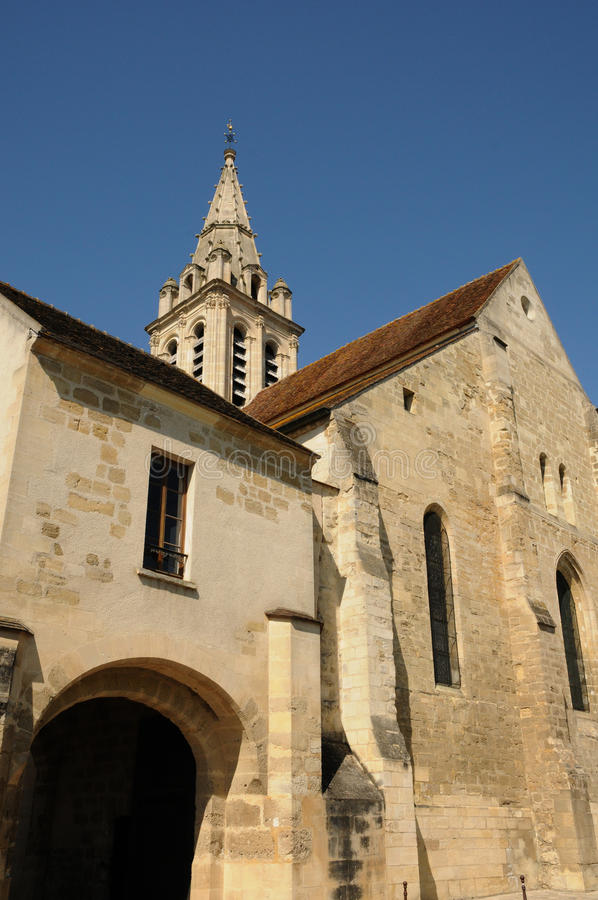 cergy Christophe kościół święty fotografia stock