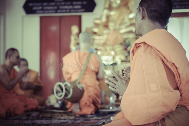 Cerimónia budista foto de stock royalty free