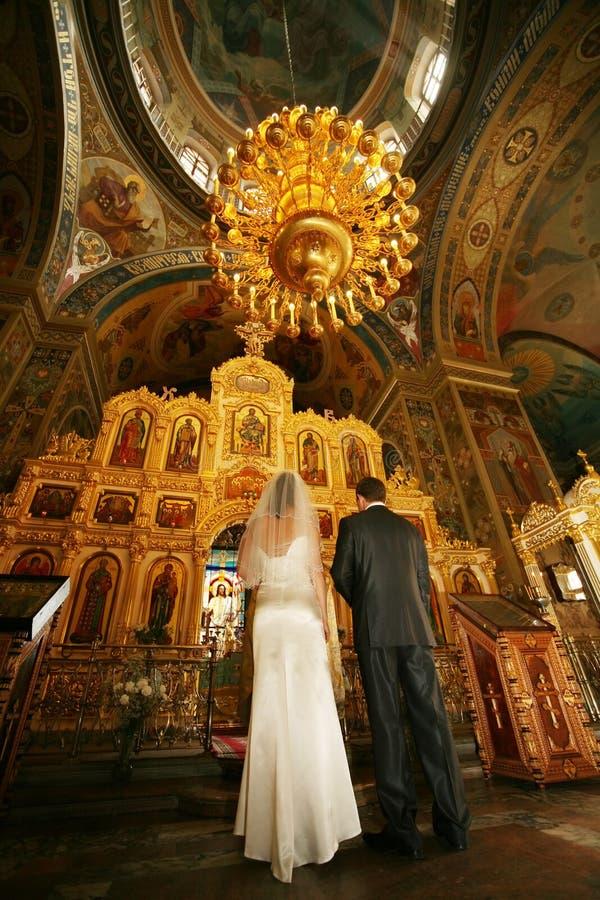 Cerimónia de casamento fotografia de stock royalty free