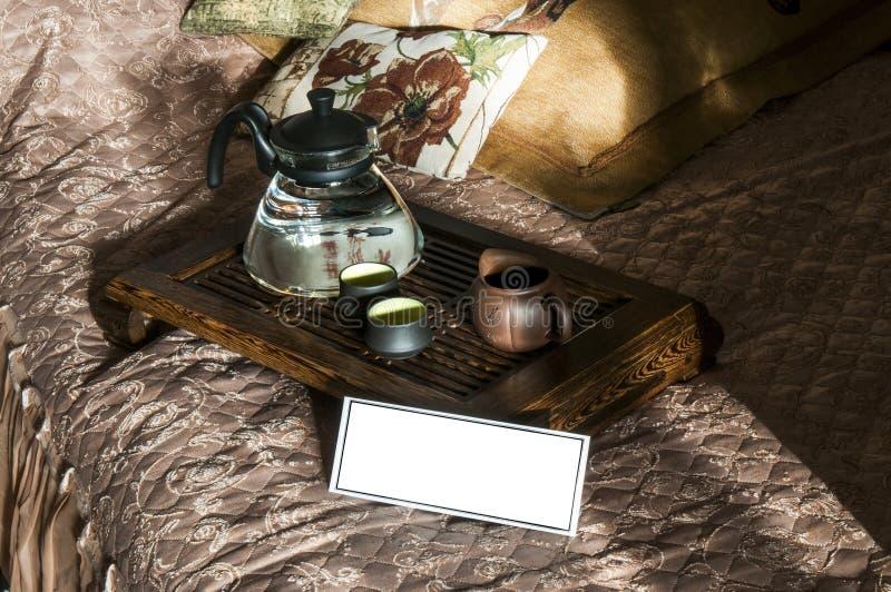 Cerimónia de chá foto de stock royalty free