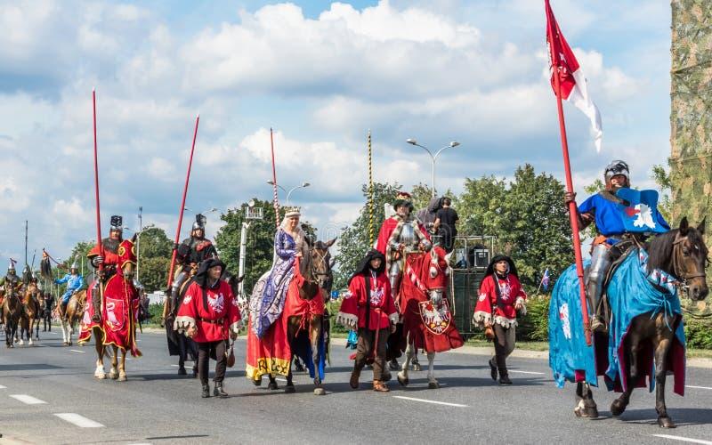 Cerimônia anual para marcar o dia de forças armadas polonês fotografia de stock royalty free