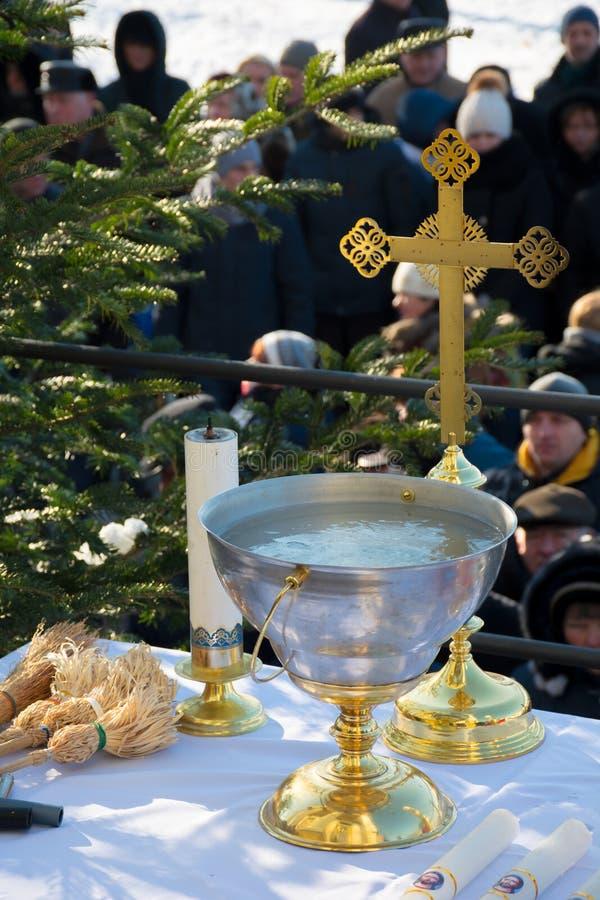 Cerimônia católica grega do esmagamento fotos de stock