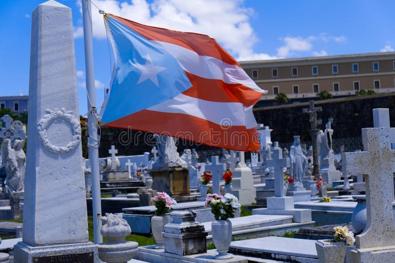 Cerimônia histórica em Puerto Rico imagem de stock royalty free