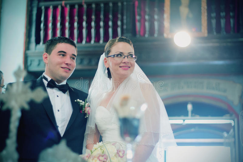Cerimônia de casamento religiosa fotos de stock royalty free