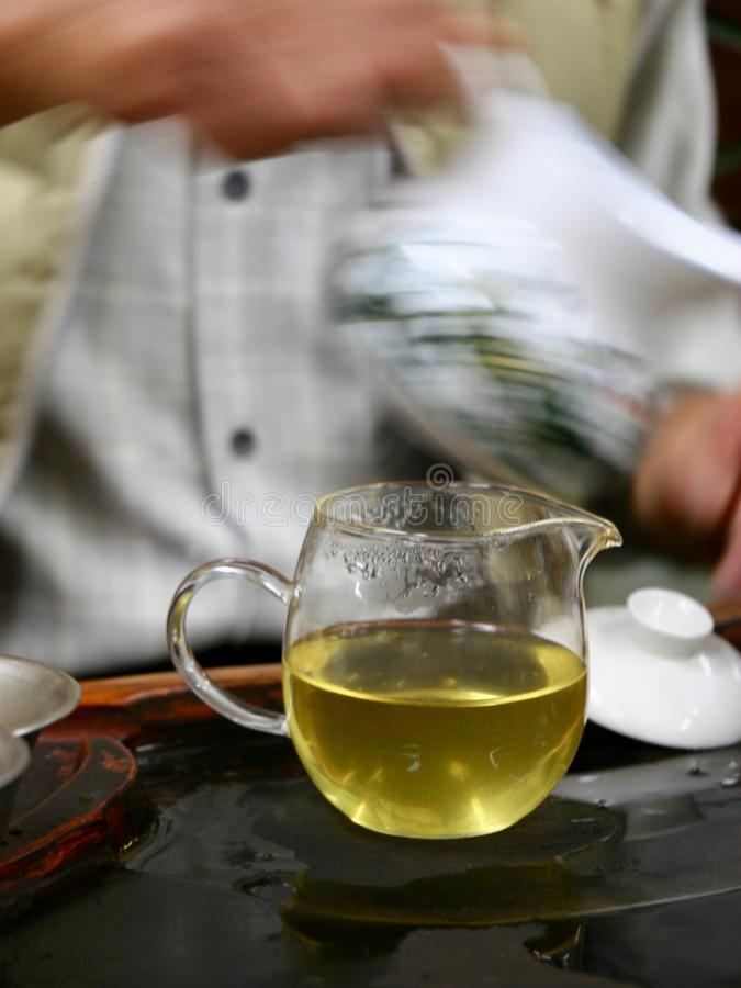 Cerimônia de chá chinesa fotos de stock royalty free