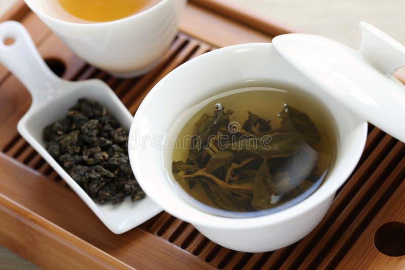 Cerimônia de chá do chinês tradicional imagem de stock