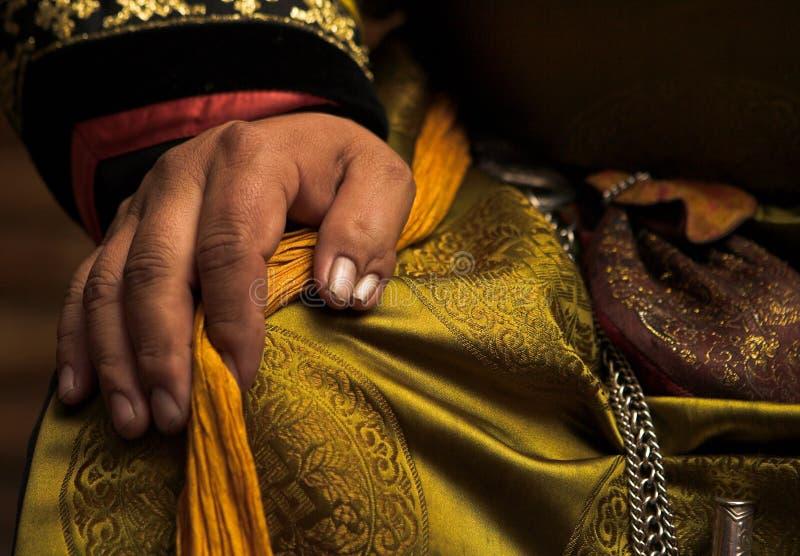 Cerimonia dello shaman immagini stock