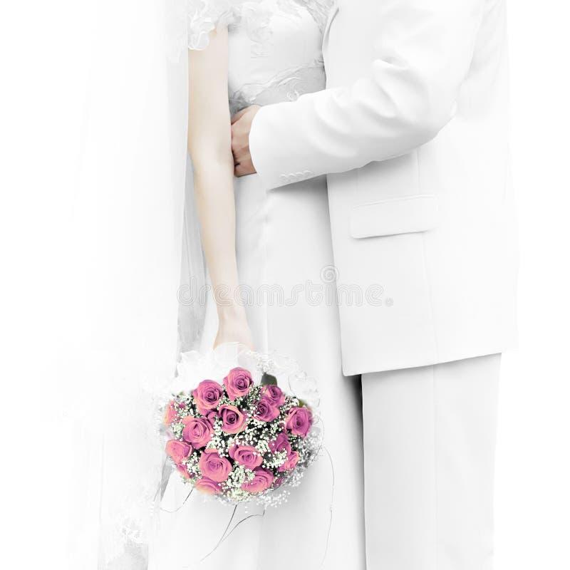 Cerimonia nuziale bouquet2 immagine stock libera da diritti