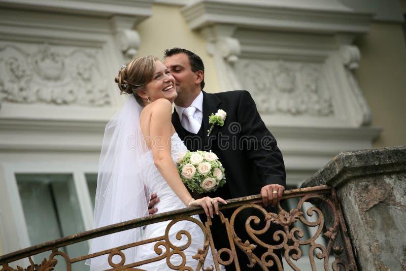 cerimonia nuziale delle coppie fotografia stock