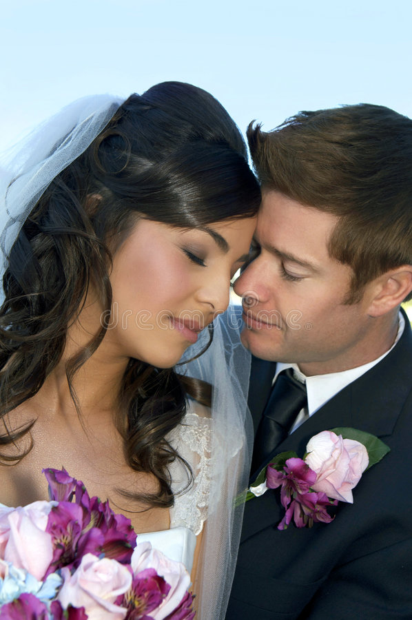 cerimonia nuziale delle coppie fotografie stock