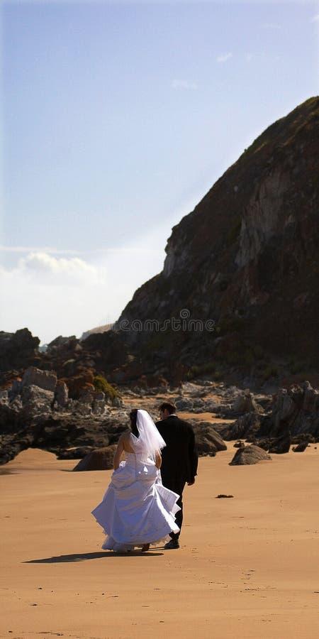 Cerimonia nuziale di spiaggia II fotografie stock libere da diritti