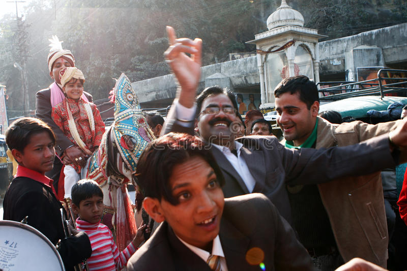 Cerimonia nuziale indiana tradizionale immagine stock libera da diritti