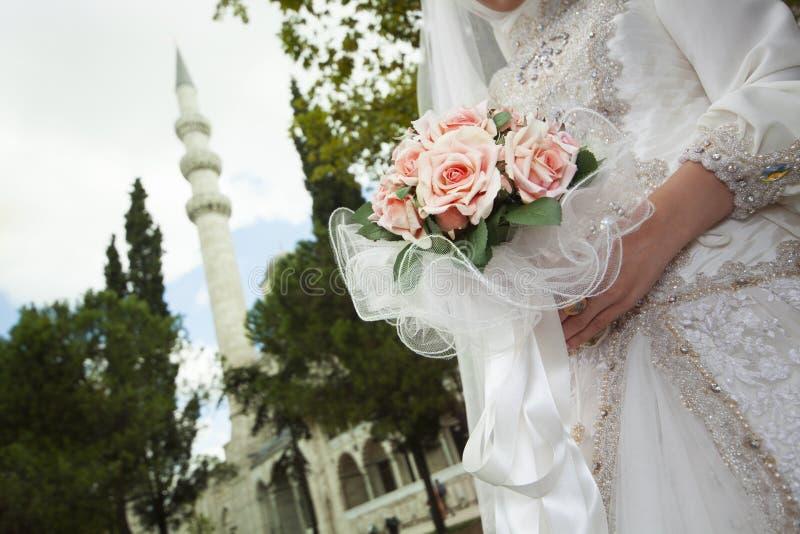 Cerimonia nuziale islamica fotografia stock libera da diritti