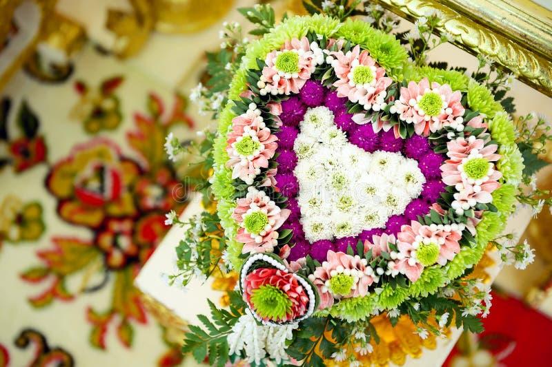 Cerimonia nuziale tailandese immagine stock libera da diritti