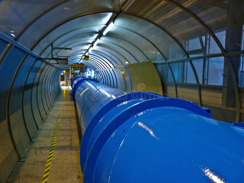 CERN - LHC. This is the main part of the Large Hadron Collider in CERN