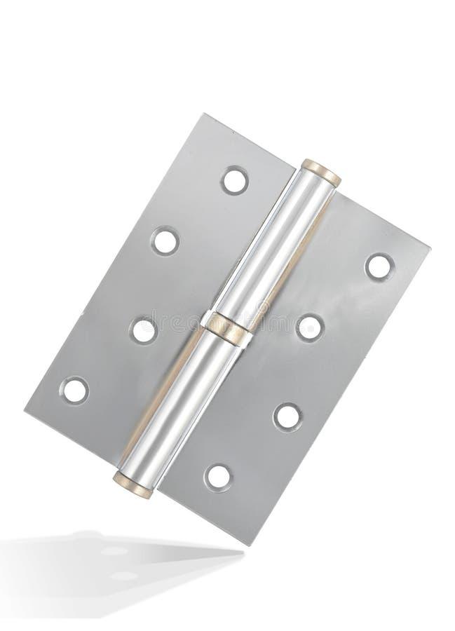 Cerniera d'argento fotografia stock libera da diritti